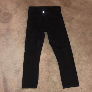 Lulu lemon wunder under cropped